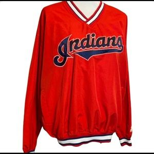 MLB Cleveland Indians Pullover Jacket with Pockets